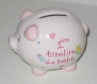 baby girl piggy bank