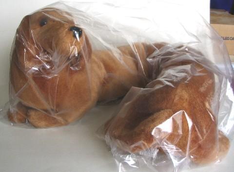 brown dog Dachshund draft stopper