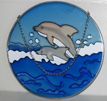 dolphin suncatcher