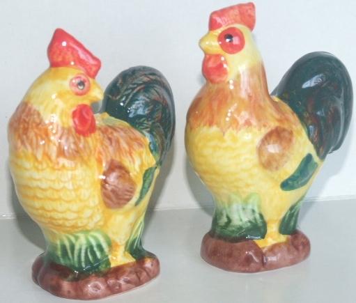 rooster salt & pepper