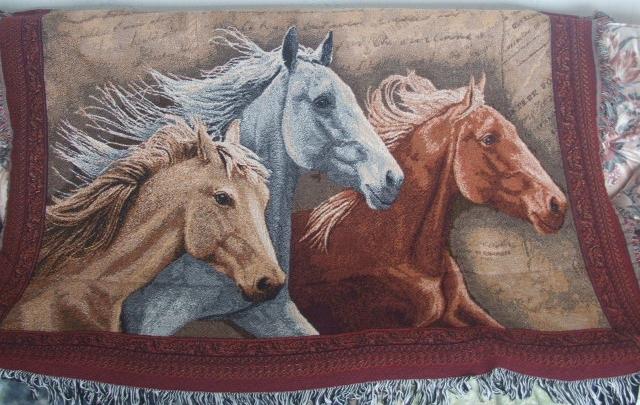 horse throw